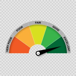 credit score gauge - BingoLoans.co.uk
